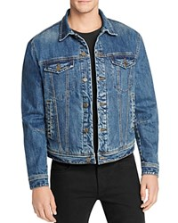 Blank Denim Jacket Vapor Rub