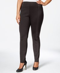 Styleandco. Style And Co. Plus Size Stretch Waist Dress Pants Only At Macy's Espresso Bean