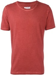 Maison Martin Margiela Short Sleeve T Shirt Red