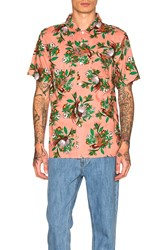 Obey Paradise S S Shirt Rose