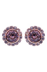 Women's Ted Baker London 'Crystal Daisy' Stud Earrings Light Pink