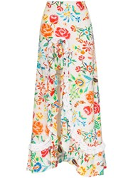 All Things Mochi Clara Floral Print Maxi Skirt 60