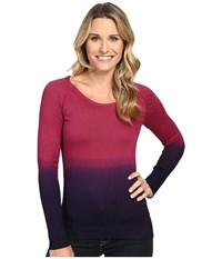 Mountain Khakis Darby Dip Dyed Sweater Hollyhock Women's Sweater Pink