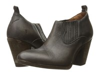 Frye Ilana Shootie Smoke Washed Oiled Vintage Women's Boots Black