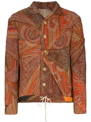 By Walid Joel Patchwork Paisley Jacket Multicolour