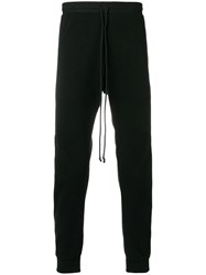 Lost And Found Rooms Panelled Trousers Black