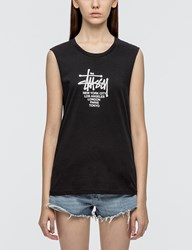 Stussy Big Cities Raw Edge Muscle T Shirt