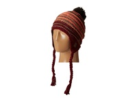 686 Earflap Beanie Wine Knit Hats Burgundy