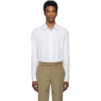 Maison Martin Margiela White Cotton Shirt