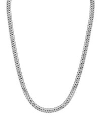 John Hardy Small Classic Chain Necklace With Chain Clasp 17 Sterling Silver