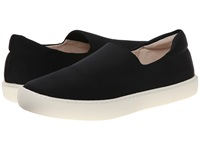Naya Juno Black Fabric Women's Slip On Shoes