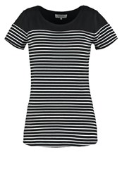 Zalando Essentials Print Tshirt Black White