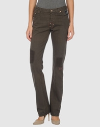 Parasuco Cult Denim Pants Dark Green
