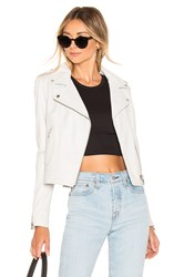 Lamarque Donna Leather Jacket White