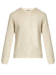 A.P.C. Crew Neck Cotton Sweatshirt Beige