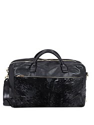 Marc Jacobs Tony Leather Weekend Bag Black