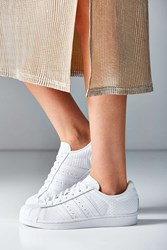 Adidas Originals Snakeskin Superstar Sneaker White