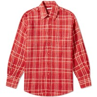 Our Legacy Less Borrowed Shirt Red