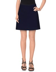 Scee By Twin Set Skirts Mini Skirts Women Dark Blue