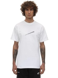 Deadnight Hande Without Care Cotton T Shirt White
