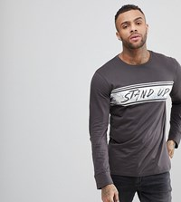 Brooklyn Supply Co. Co Skater Stand Up Long Sleeve T Shirt Re1 Red 1