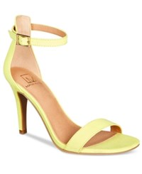 Material Girl Blaire Two Piece Dress Sandals Created For Macy's Women's Shoes Citron