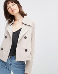 Only Capri Spring Jacket Simply Taupe Beige