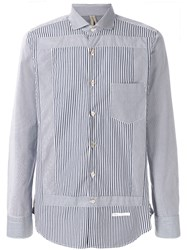 Dnl Striped Long Sleeve Shirt Blue