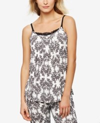 A Pea In The Pod Nursing Tank Top Damask Floral