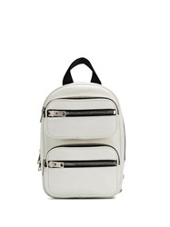 Alexander Wang Zip Pocket Backpack White