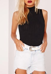 Missguided Western Single Buckle Belt White White