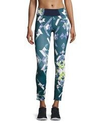 Charlie Jade Geometric Print Performance Leggings 2574