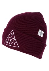 Cayler And Sons Hat Maroon White Dark Red