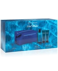 Davidoff 4 Pc. Cool Water For Men Gift Set No Color