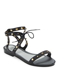 Mel Artemis Gladiator Sandals Black
