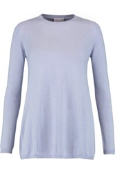 Red Valentino Redvalentino Cashmere And Silk Blend Sweater Lilac