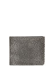 Diesel Triangle Embossed Leather Coin Wallet