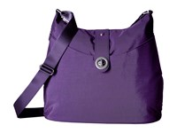 Baggallini Helsinki Silver Grape Handbags Purple