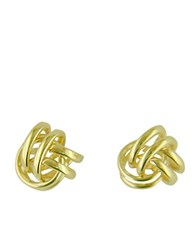 Lord And Taylor 14 Kt. Yellow Gold Polished Love Knot Earrings 14K Yellow Gold