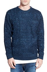Men's Bellfield Mixed Knit Crewneck Sweater