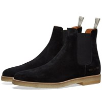 Common Projects Suede Chelsea Boot Black