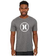 Hurley Icon Dri Fit Tee Heather Charcoal Men's T Shirt Gray