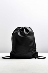 Urban Outfitters Uo Faux Leather Cinch Backpack Black