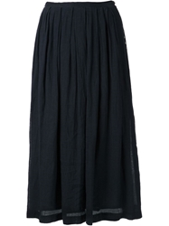 Arts And Science Pleated Skirt Blue