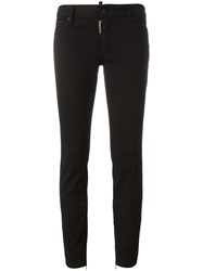 Dsquared2 Twiggy Jeans Black