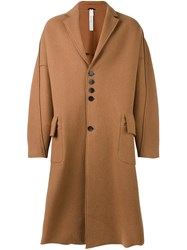 Damir Doma 'Copernico' Coat Brown