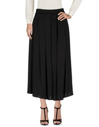 Mnml Couture Long Skirts Black