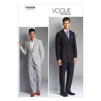 Vogue Men's Jacket And Trousers 8988