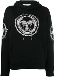 Givenchy Moon And Sun Embroidered Hoodie Black