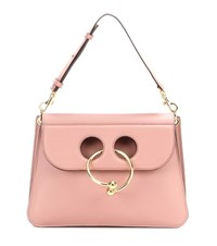 J.W.Anderson Medium Pierce Leather Shoulder Bag Pink